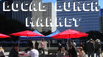 City Hall Local Lunch Market